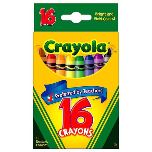 เครโยล่า สีเทียน 16 สี