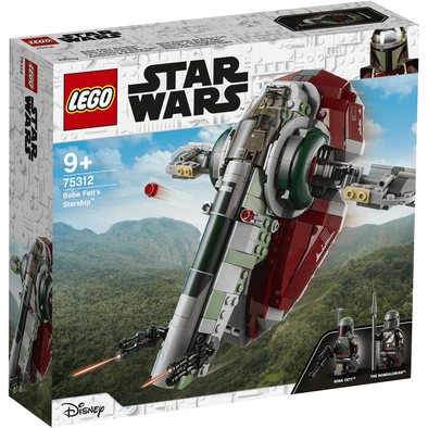 LEGO เลโก้ สตาร์วอร์ส โบบา เฟท สตาร์ชิพ 75312