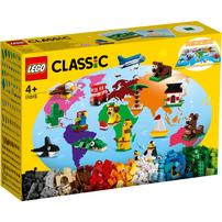 LEGO เลโก้ คลาสสิค อราวนด์ เดอะ เวิร์ด 11015