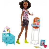 Barbie บาร์บี้ เบบี้ซิตตี้ง เพลย์เซ็ต (คละแบบ)