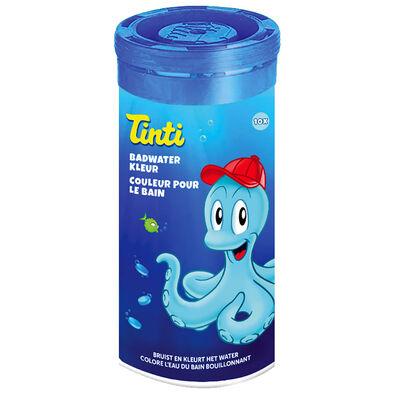 Tinti ทินตี้ เม็ดสีอาบน้ำ สีฟ้า