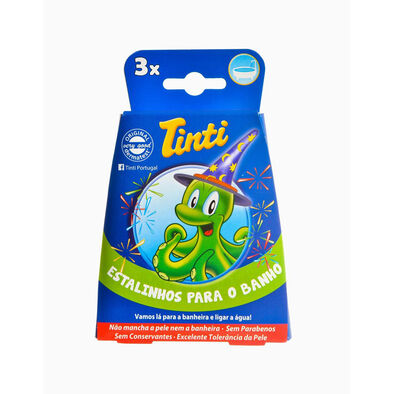 Tinti ทินตี้ เกลือสีอาบน้ำเป๊าะแป๊ะ แพ็ก 3