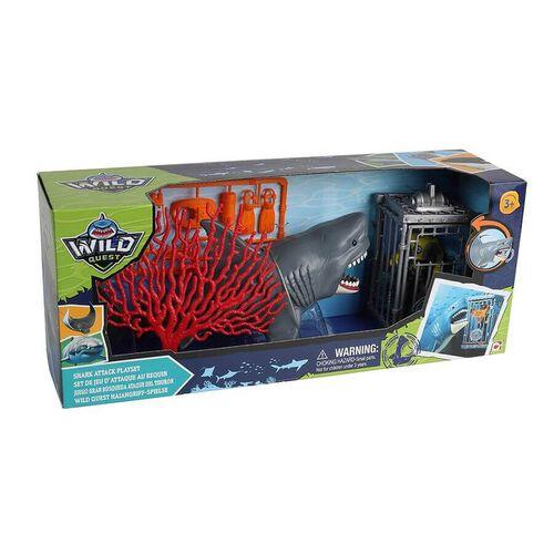 Wild Quest ไวล์ด เควส ชุดของเล่นฉลามโจมตี