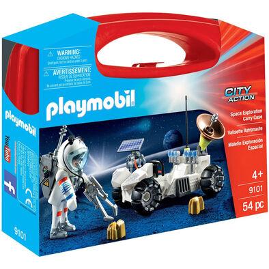 Playmobil เพลย์โมบิล สเปซ เอ็กซ์พลอเรชั่น ในกล่องกระเป๋าถือ