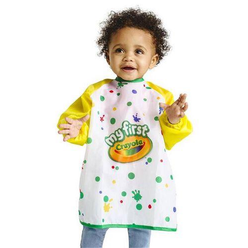 Crayola เครโยล่า ผ้ากันเปื้อนศิลปะ สำหรับเด็กเล็ก