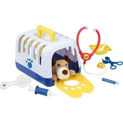 BRU บรู ชุดของเล่นจำลองบทบาทสัตว์แพทย์