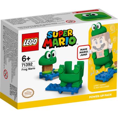 LEGO เลโก้ ซูเปอร์มาริโอ้ ฟร๊อก มาริโอ้ พาวเวอร์-อัพ แพ็ก 71392