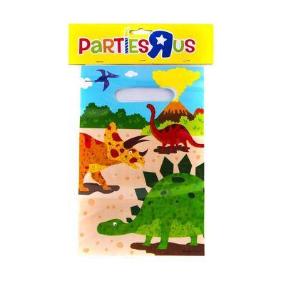 """Parties""""R""""Us ถุงพลาสติก ลายไดโนเสาร์ (6x9 นิ้ว)"""