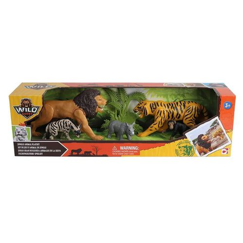Wild Quest ไวล์ด เควส ชุดของเล่นสัตว์ป่า