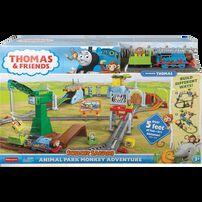 Thomas & Friend โทมัส แอนด์ เฟรนซ์ แทรคมาสเตอร์ ชุดลิงผจญภัยในสวนสัตว์