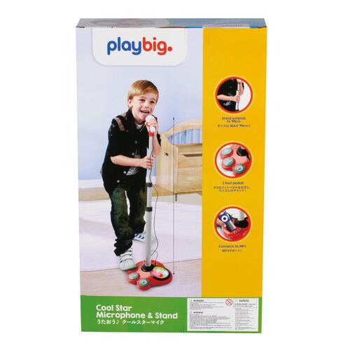 Playbig เพลย์บิ๊ก ชุดไมโครโฟนพร้อมขาตั้ง คูลสตาร์
