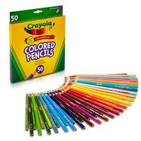 Crayola เครโยล่า สีไม้ 50แท่ง ไร้สารพิษ