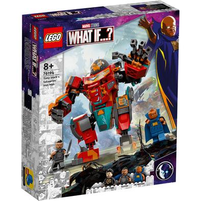 LEGO เลโก้ มาร์เวล โทนี่ สตาร์ค ซากาเรียน ไอรอน แมน 76194