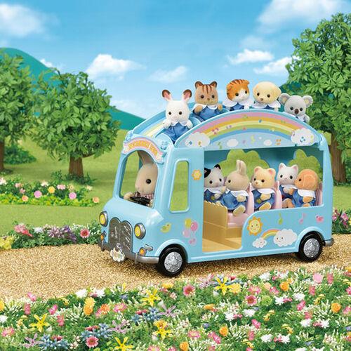 Sylvanian Family ซิลวาเนียน แฟมิลี่ รถบัสเนอร์สเซอรี่ซันชายน์