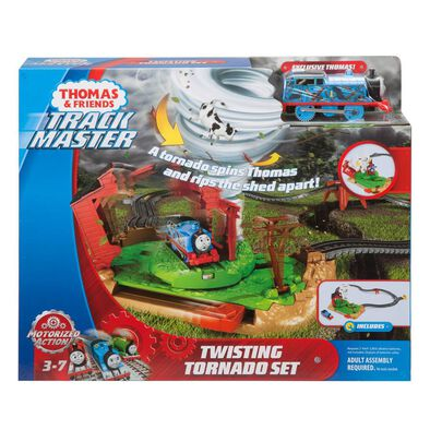Thomas & Friends โทมัส และ ผองเพื่อน ชุดรางรถไฟแทรคมาสเตอร์ทวิ้สติ้ง ทอร์นาโด