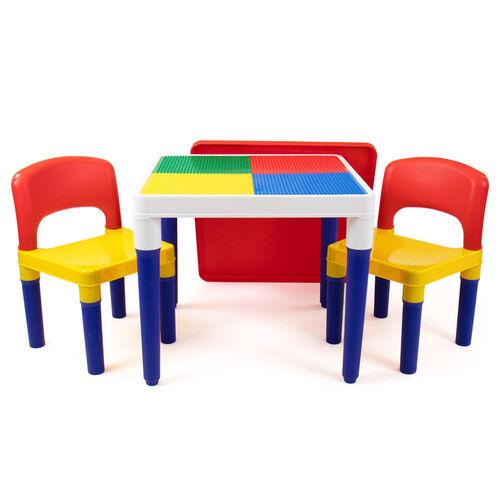 Universe Of Imagination ยูนิเวิร์ส ออฟ อิเมจิเนชั่น ชุดโต๊ะเก้าอี้ ทูอินวัน (ต่อบล็อกได้ หรือ ทำกิจกรรมอื่นได้)