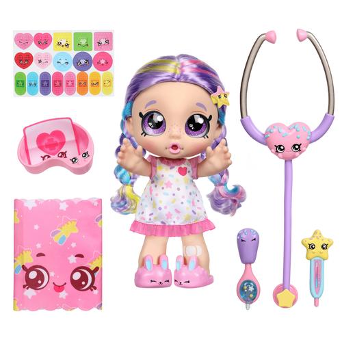 คินดี้คิดส์ ของเล่นตุ๊กตากับเซตรักษาพยาบาล ชิเวอร์ แอนด์ เชค เรนโบว์เคส