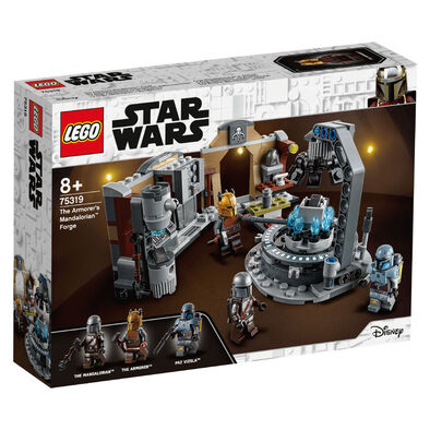 LEGO เลโก้ สตาร์วอร์ส ดิ อาร์เมอร์เรอร์ แมนดาลอเรียน ฟอร์จ 75319