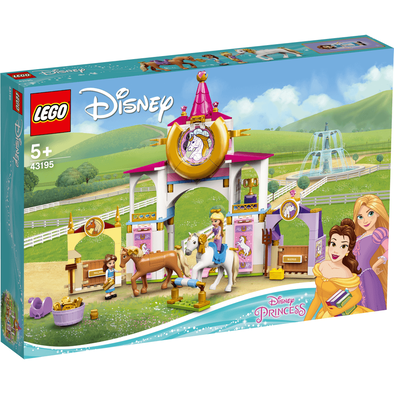 LEGO เลโก้ ดีสนีย์ ปรินท์เซส แบล แอนด์ ราพันเซล โรยัล สเตเบิล 43195