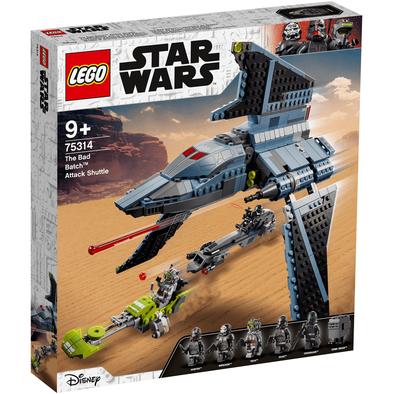 LEGO เลโก้ สตาร์วอร์ส เดอะ แบด แบช แอทแท็ค ชัทเทิล 75314