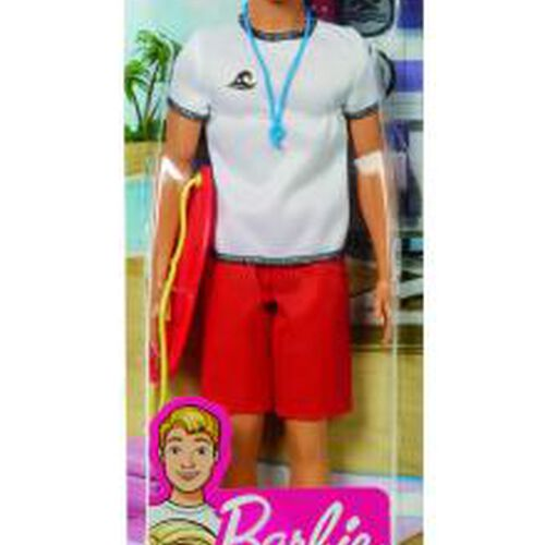 Barbie บาร์บี้ ตุ๊กตาเคนในชุดอาชีพต่างๆ (คละแบบ)