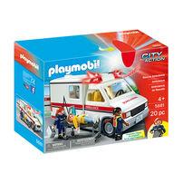 Playmobil เพลย์โมบิล ชุดรถพยาบาลกู้ภัย