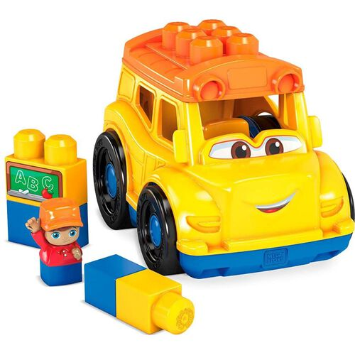 Mega Bloks First Builders เมก้า บล็อคส์ เฟิร์สท์ บิวเดอร์ ซอนนี่ รถโรงเรียน