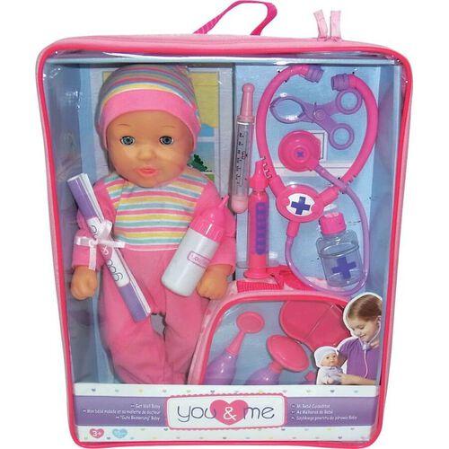You & Me ยูแอนด์มี ตุ๊กตาเมดิคัล ขนาด 14 นิ้ว