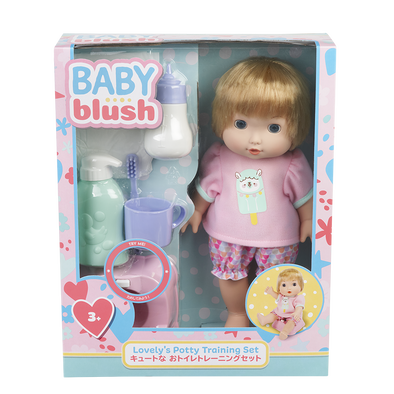 Baby Blush เบบี้ บลัช เลิฟลี่ พ็อตตี้เทรนนิ่ง ดอลล์ เซ็ต