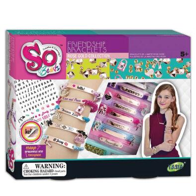 So Beads โซบีดส์ ชุดร้อยกำไลข้อมือ ธีมเฟรนด์ชิพ โรสโกลด์คอลเล็คชั่น