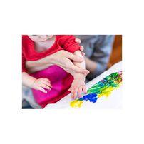 Crayola เครโยล่า ชุดระบายสีด้วยนิ้วมือล้างออกได้สำหรับเด็กเล็ก