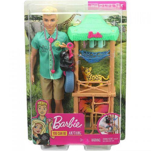 Barbie บาร์บี้ เคน ชุดของเล่นประกอบอาชีพ (คละแบบ)