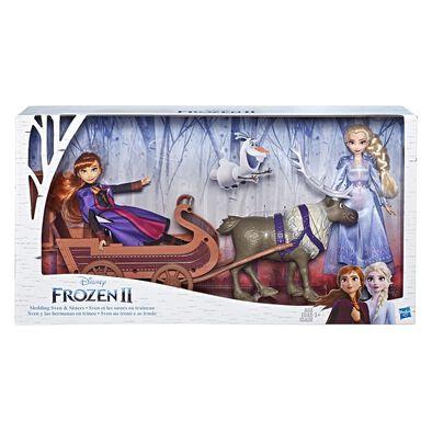 Disney Frozen 2 ฟีเจอร์  เอลซ่า แอนนา สเวนพร้อมเลื่อน