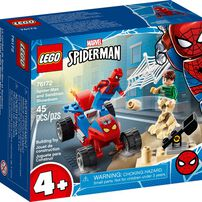 LEGO เลโก้ สไปเดอร์เมน แอนด์ แซนแมน โชว์ดาวน์ 76172