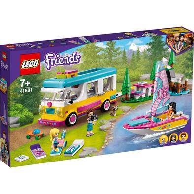 LEGO เลโก้ เฟรนดส์ แคมเปอร์ แวน แอนด์ เซลล์โบ๊ท 41681