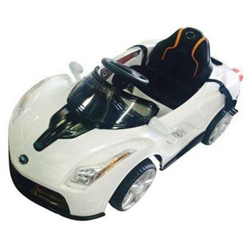 รถแบตเตอรรี่บังคับ แบบนั่ง สีขาว
