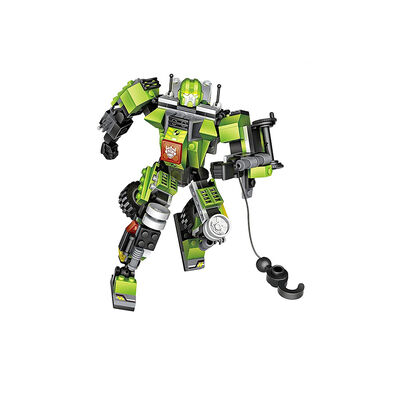 Loz ลอซ ตัวต่อหุ่นยนต์แปลงร่างเป็นรถเครน