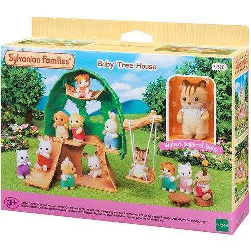 Sylvanian Family ซิลวาเนียน แฟมิลี่ บ้านต้นไม้ของเบบี้