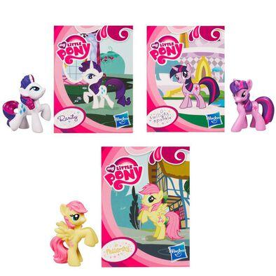 My Little Pony มายลิตเติลโพนี่ ฟิกเกอร์โพนี่ขนาดเล็ก (คละลาย)