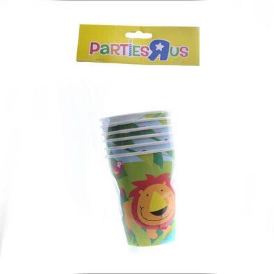 """Parties""""R""""Us ถ้วยกระดาษ 9 ออนซ์ ลายสัตว์ป่า"""