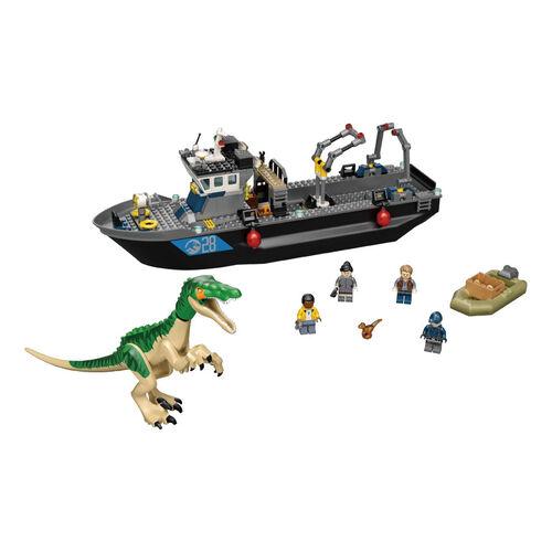 LEGO เลโก้ จูราสสิคเวิร์ด บายอนิกซ์ ไดโนซอร์ โบ๊ท เอสเคป 76942