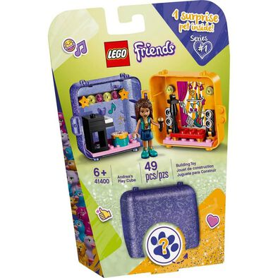 LEGO เลโก้ เฟรนดส์ แอนเดรีย เพลย์ คิวบ์ 41400