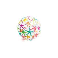 อินเท็กซ์ ลูกบอลชายหาดพิมพ์ลาย (คละแบบ)
